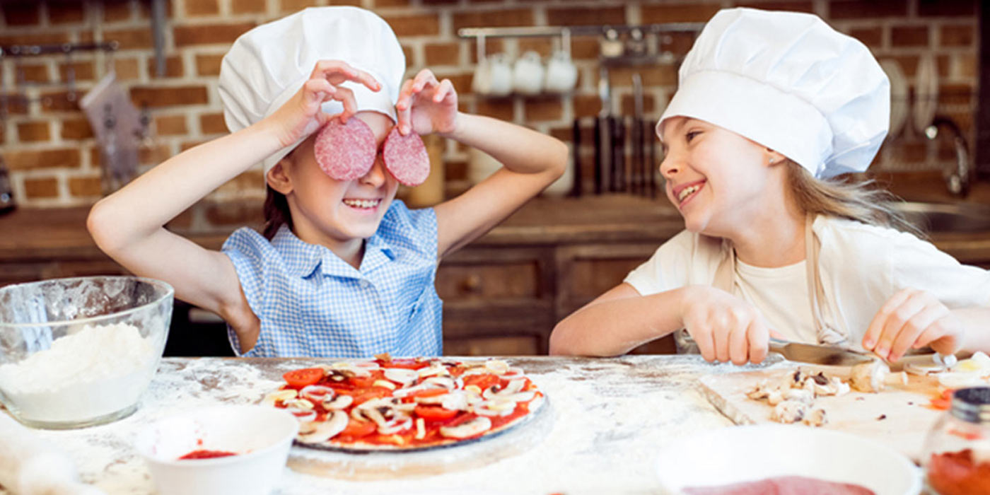 Pizzaspass für den Kindergeburtstag